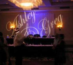 Gobo Projekce Projection179 Svatba Wedding