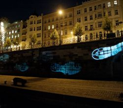 Gobo Projekce Projection205 Outdoor Venkovni