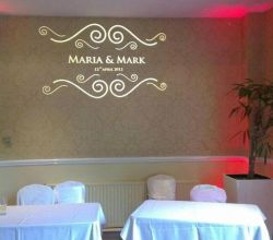Gobo Projekce Projection275 Svatba Wedding