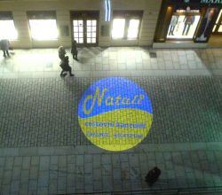 Gobo Projekce Projection62 Logo Promotion